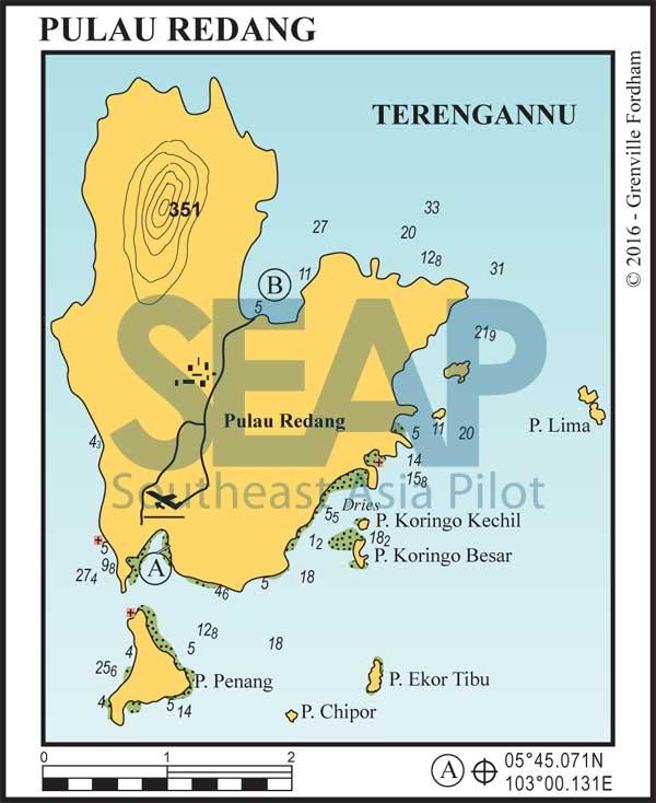 Pulau Redang chart