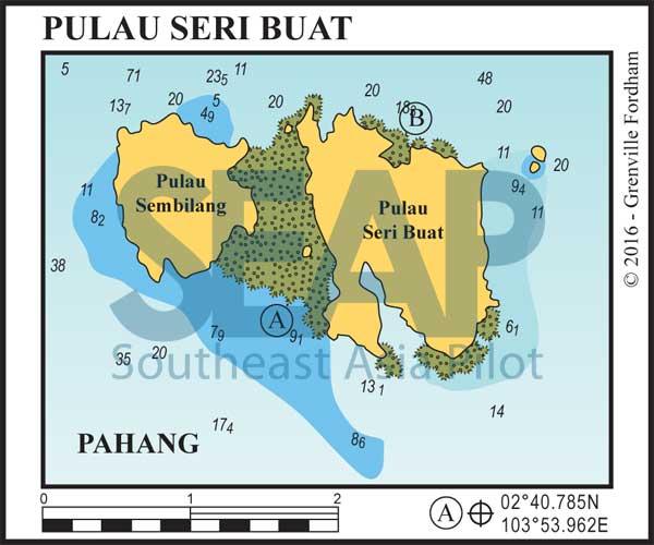 Pulau Seri Buat chart