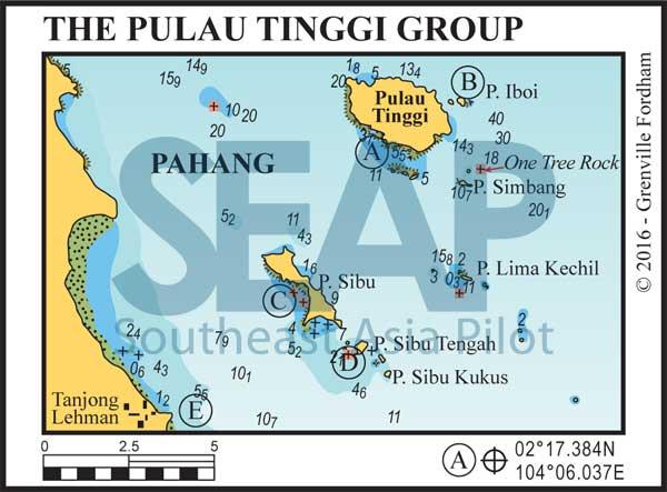 The Pulau Tinggi Group chart