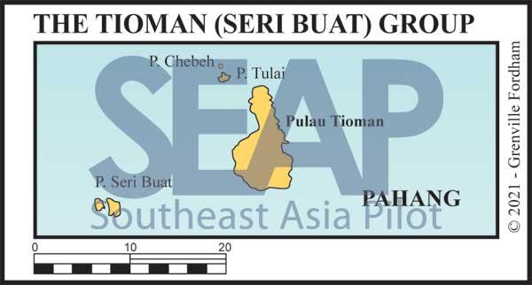 The Tioman and Seri Buat Island Group