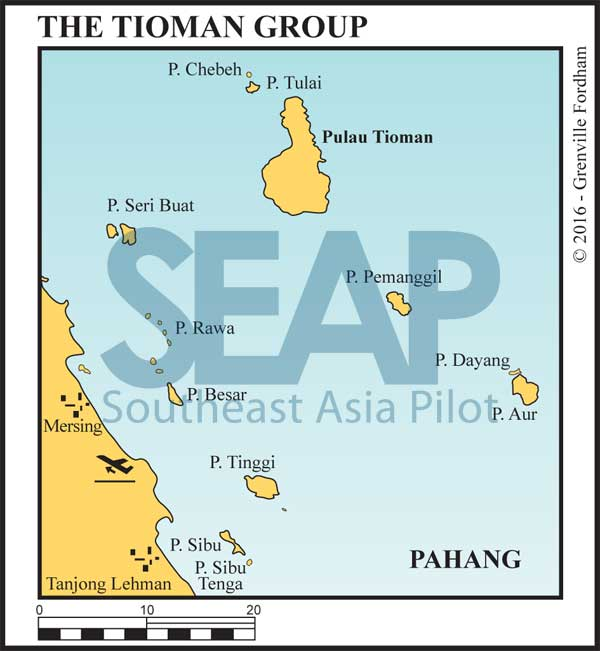 The Tioman Island Group