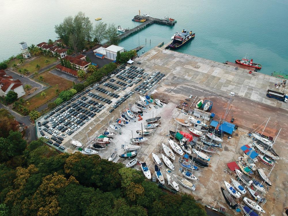 B & V Marine Langkawi shipyard