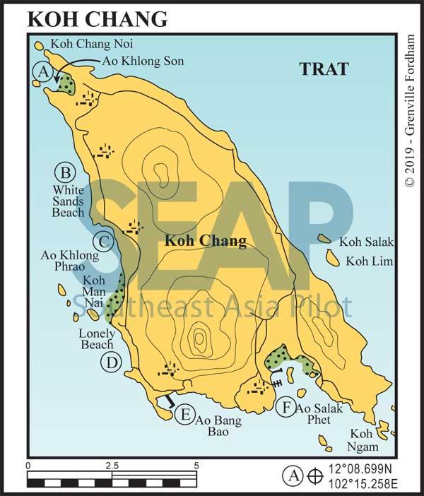 Koh Chang chart