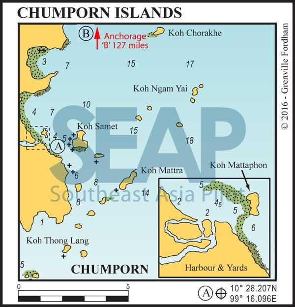 Islands of Chumporn, Gulf of Thailand