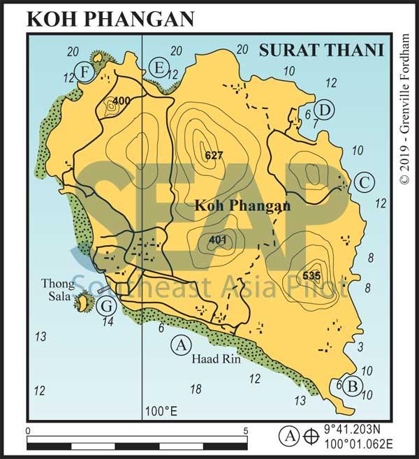 Koh Phangan, Gulf of Thailand