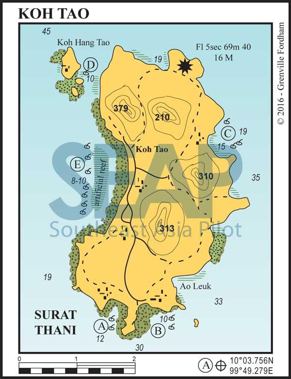 Koh Tao, Gulf of Thailand