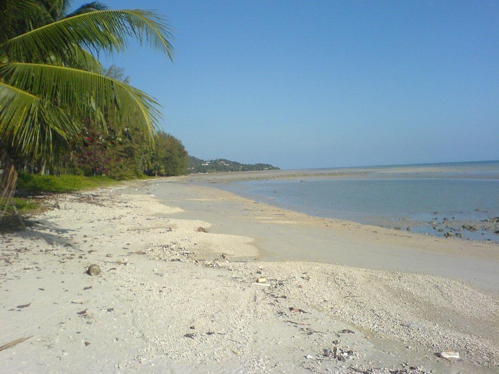 Lesser known beach, Bang Kao, on Koh Samui