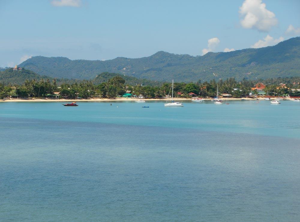 Yachts moored at Bo Phut