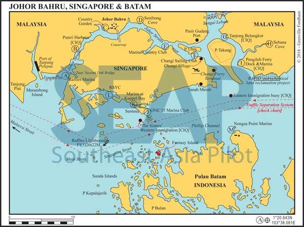 Singapore, Johor Bahru & Batam