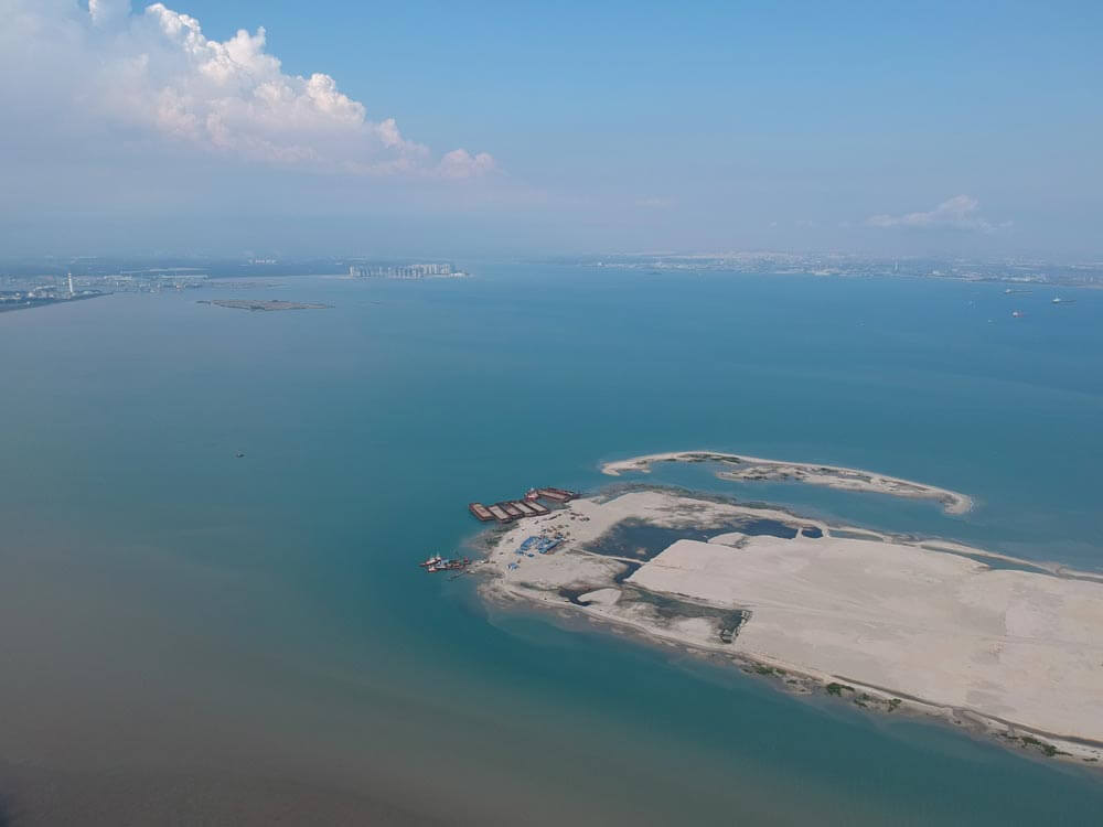 Tanjung Piai reclamation