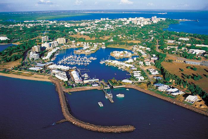 Marina in Darwin