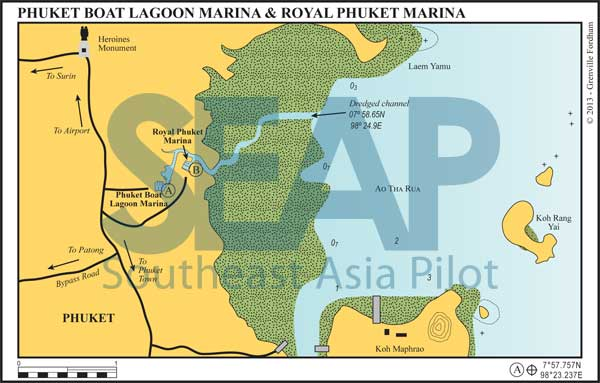 Phuket Boat Lagoon Marina & Royal Phuket Marina, Phang Nga Bay, Thailand