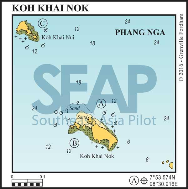 Koh Khai Nok, Phang Nga Bay, Thailand
