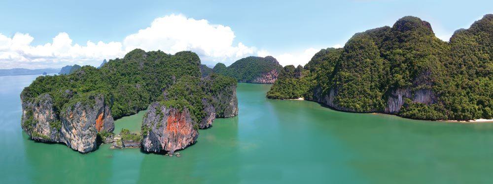 Islands of Phang-Nga Bay