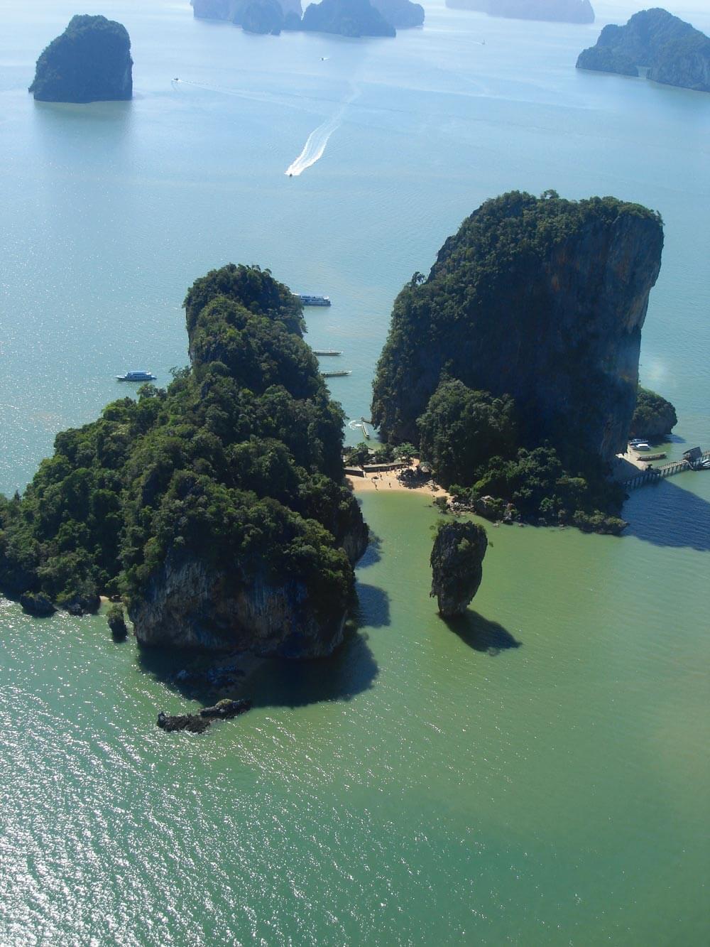 James Bond and Nail Islands