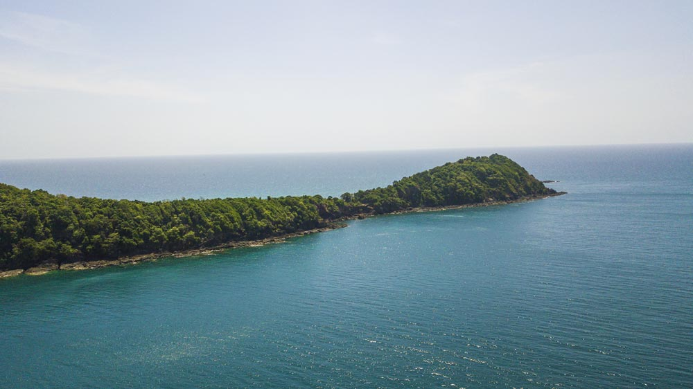 The southern-most point of Koh Maithon