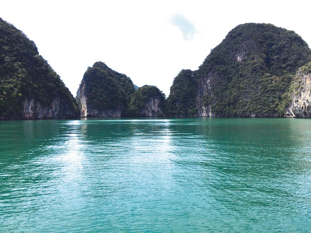 Koh Phanak, east coast   Photo by Grenville Fordham
