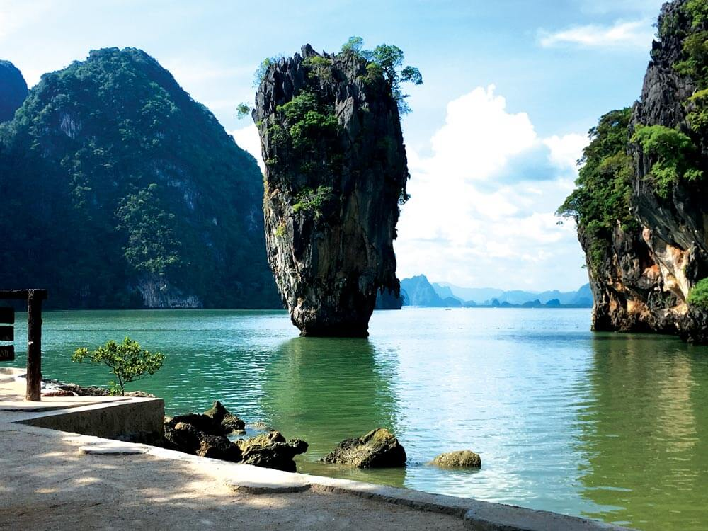 Koh Tapu (Nail Island) made famous by James Bond