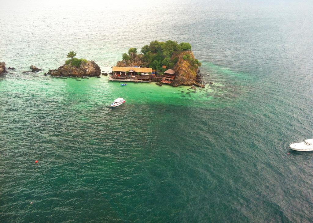 Koh Khai Nui with its popular Italian restaurant