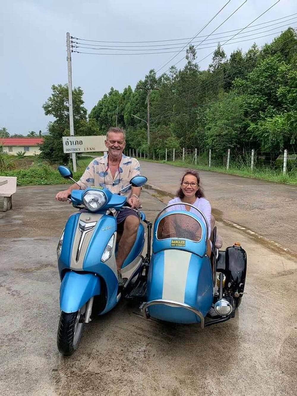 Get a sidecar on Koh Yao Noi to go shopping - or just to tour the island | Photo by Nina Fordham