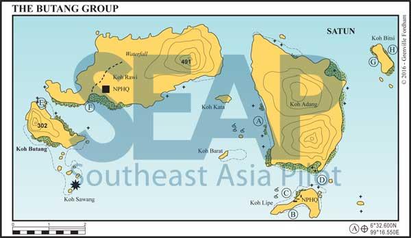 Butang Island Group chart
