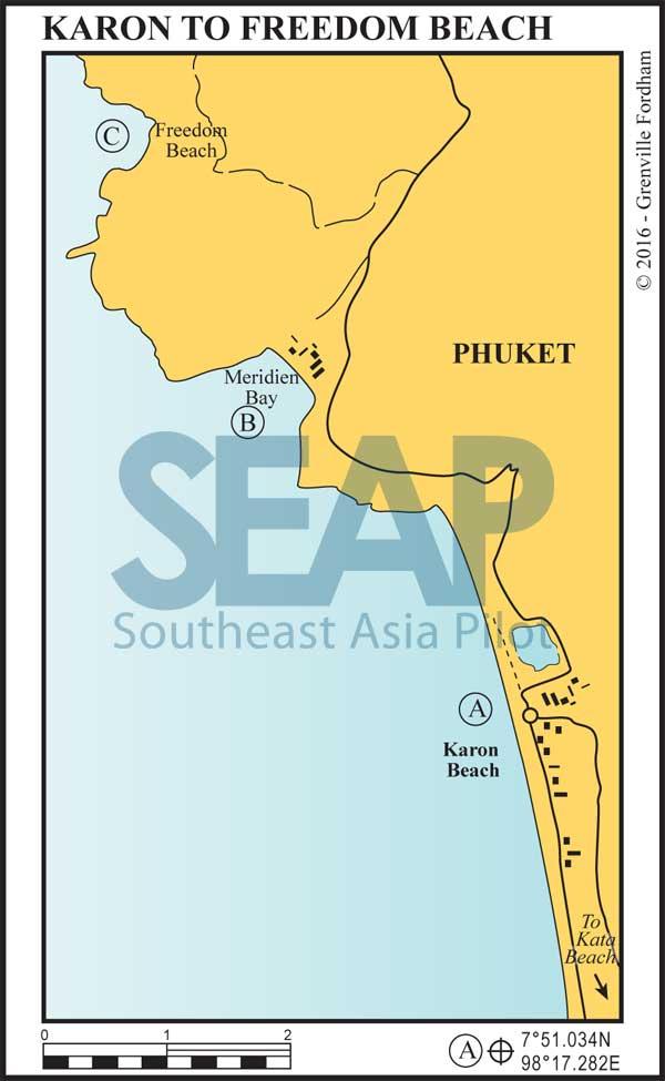 Karon Beach to Patong