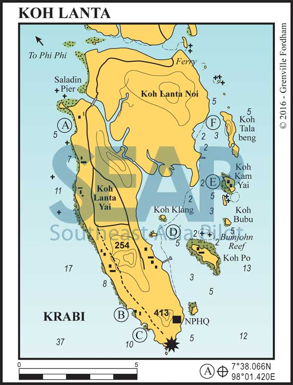 Koh Lanta chart