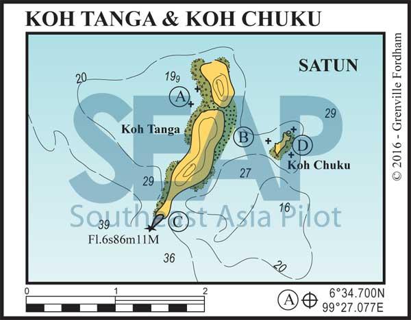 Koh Tanga & Koh Chuku chart