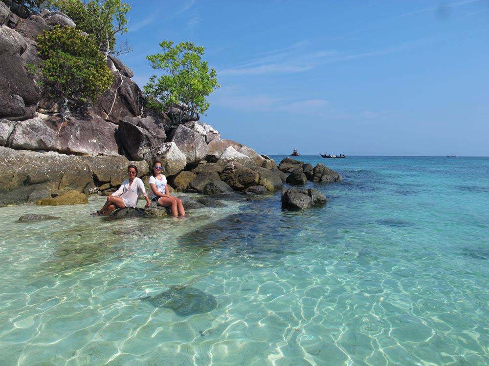 Beautiful rocky island offshore Koh Lipe