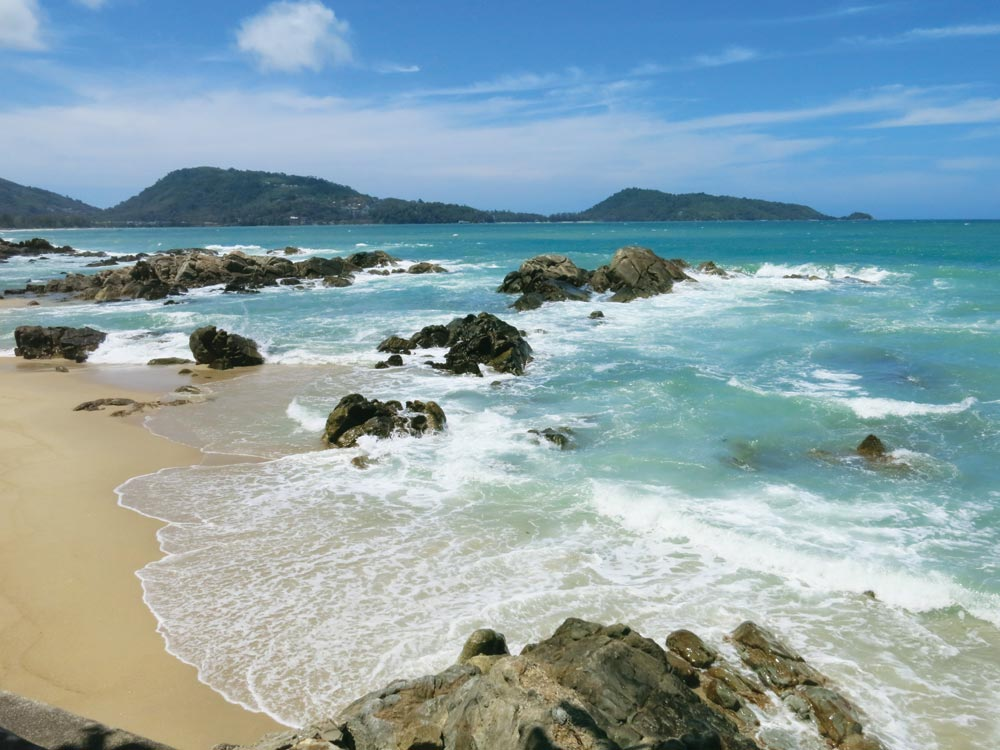 Rocky Kalim Beach, just north of Patong City