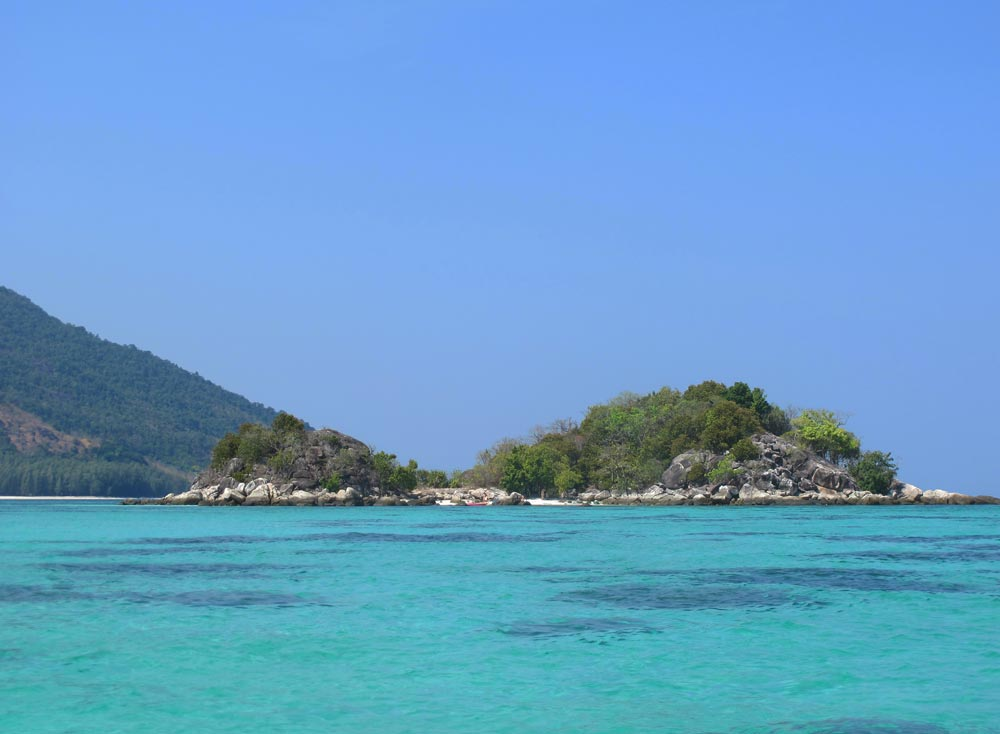 Koh Barat, one of the islands in the Butang Group