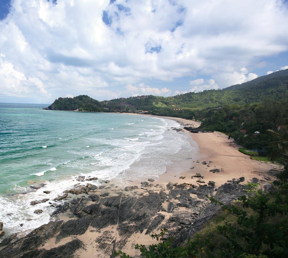 Sandy beach on Koh Lanta