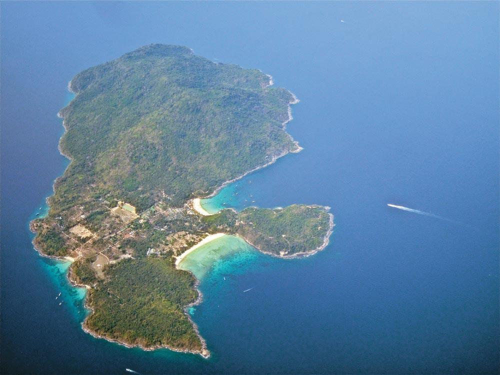 Aerial shot of Koh Racha Yai