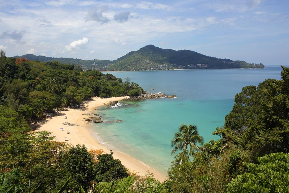 The beach at Laem Sing - returned to its former beauty