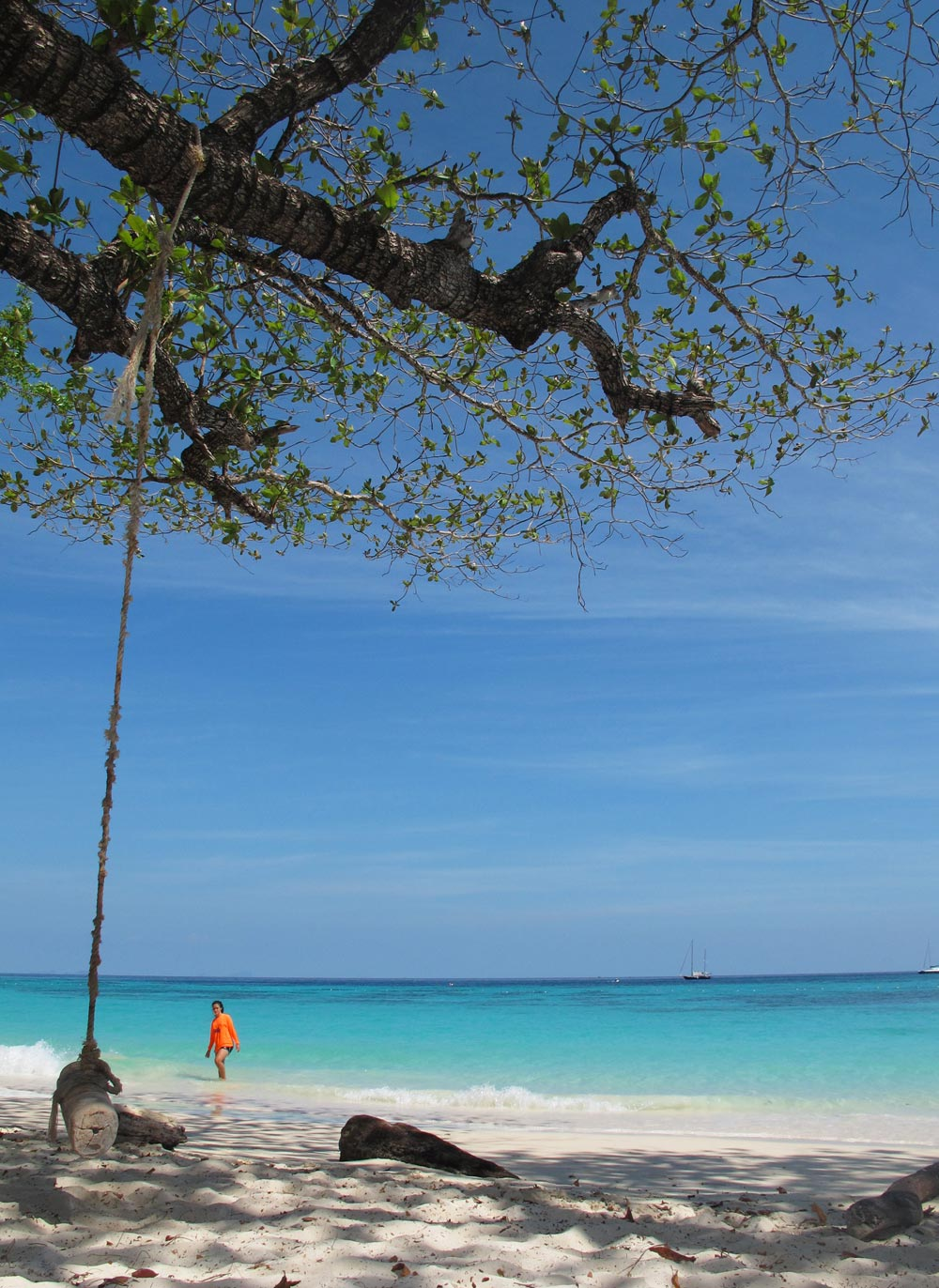 Perfect beach and sea at Koh Rok Nai
